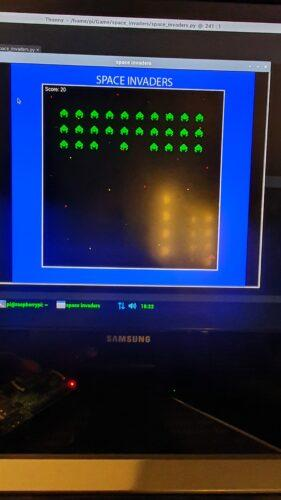 Space Invaders is a little part of the puzzel